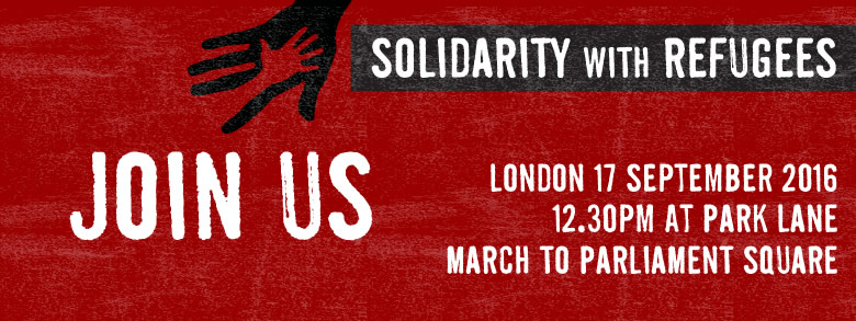 London 17 September 2016, 12:30pm at Park Lane, March to Parliament Square